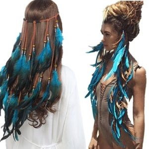 Accessories - Handmade Feather Headband 🔆